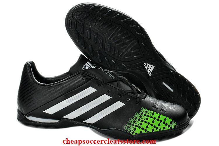 Adidas predator lz trx tf boots for cheap black white