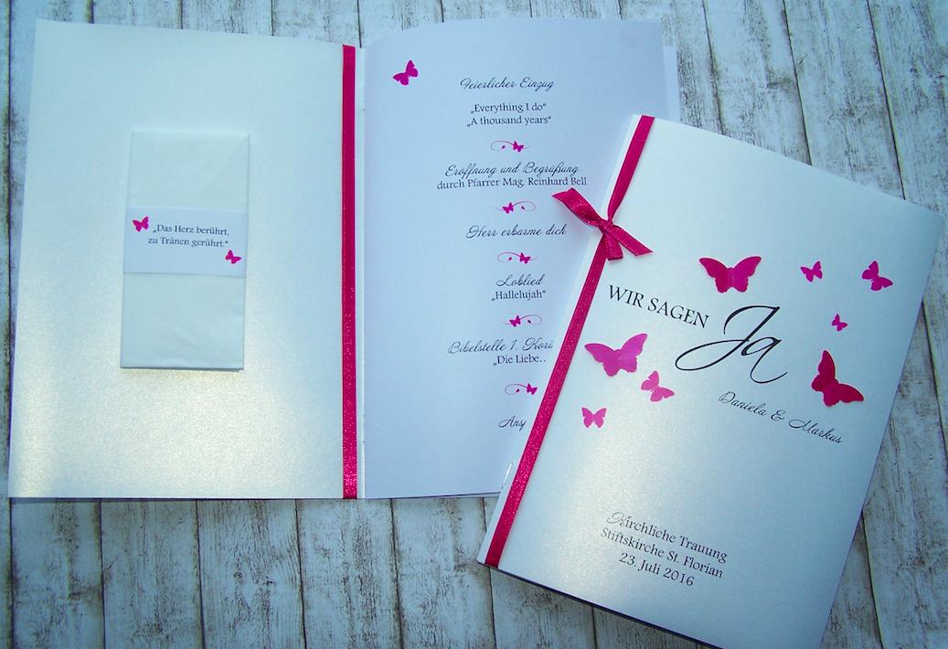 Kirchenheft Mit Freudentranen Karte Hochzeit Kirchenheft Sitzplan Hochzeit