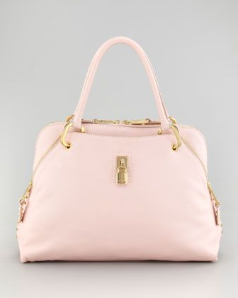 Rio Satchel Bag, Pale Pink by Marc Jacobs at Bergdorf Goodman.
