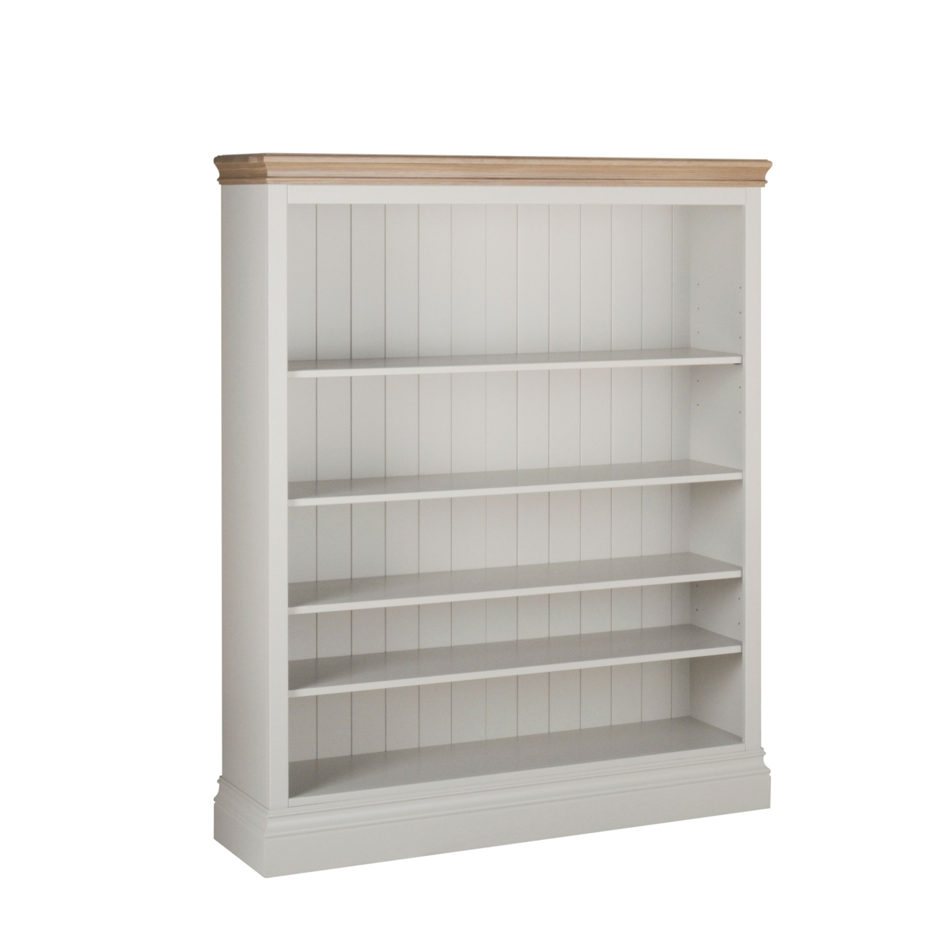 Lundy 5 Foot Wide Bookcase LK80