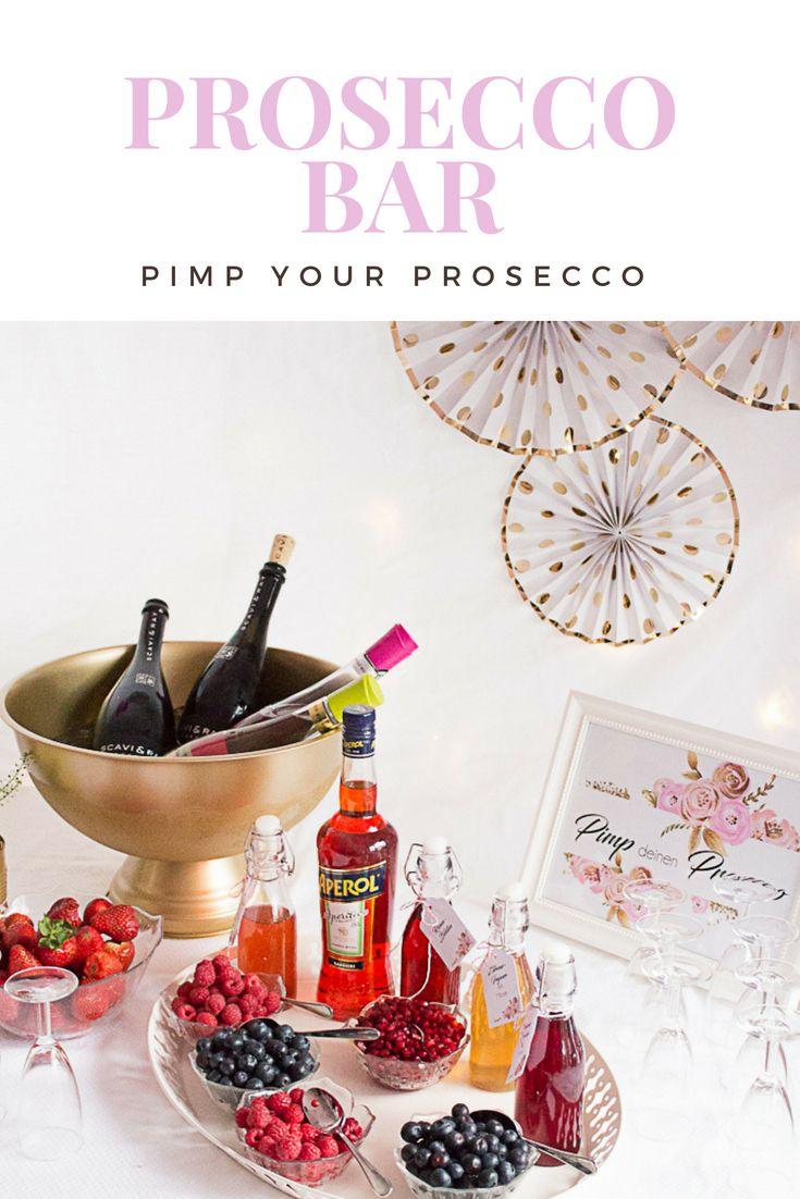 Photo of Pimp your Prosecco: Eine Prosecco-Bar, die Sie für Ihre nächste Feier nachahmen können