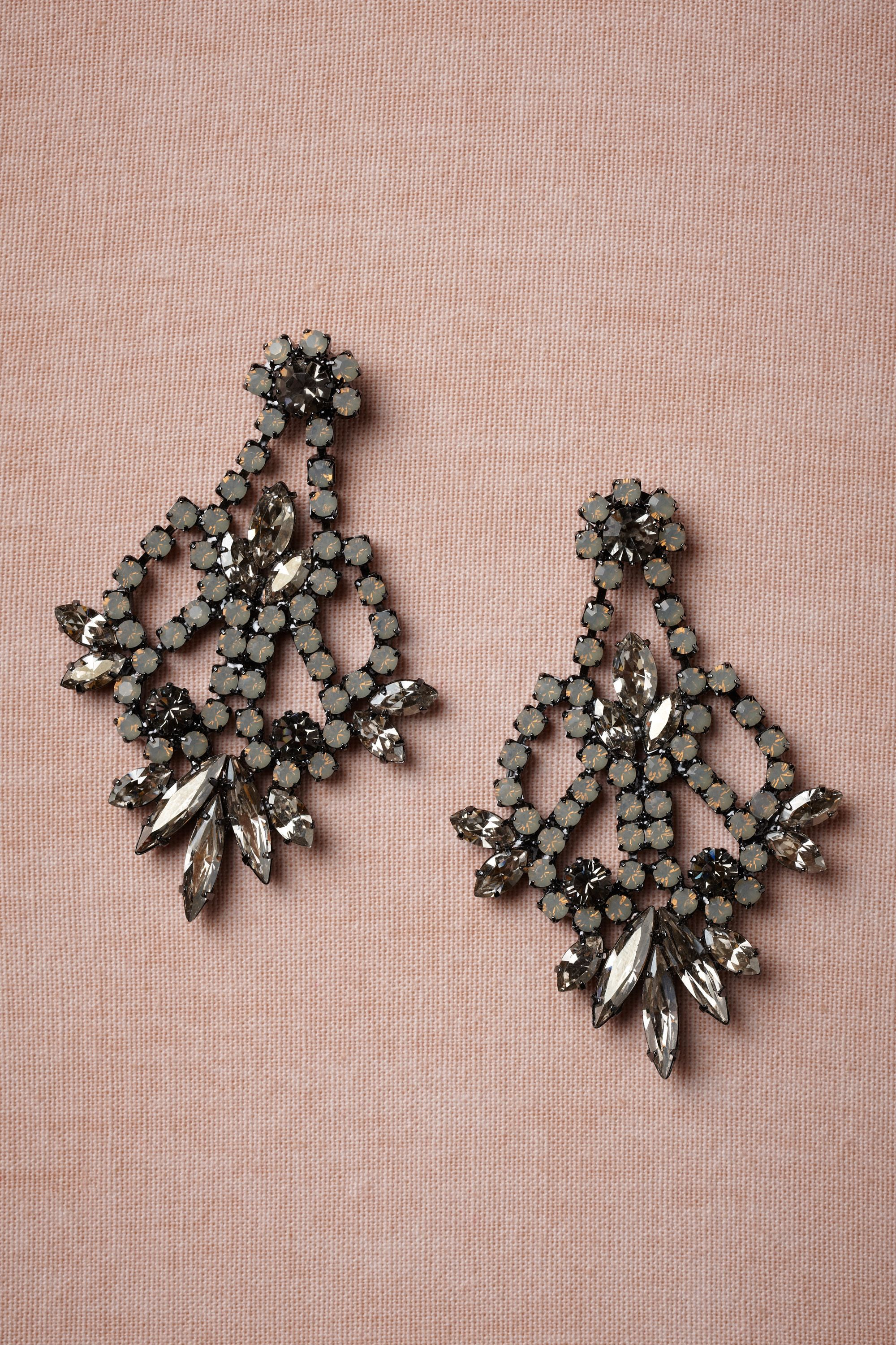 Candlelit Earrings from BHLDN | Fashion | Pinterest | Bridal jewelry ...