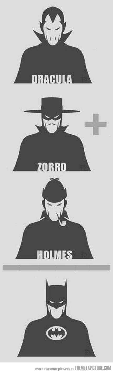 Dracula + Zorro + Holmes…