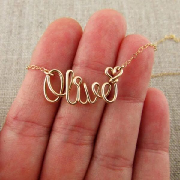 8d7102eff641c Perfectly Personalized Handmade Necklace | JEWELRY DESIGN | Gold ...