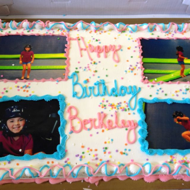 Creative Cake For A Party At AirHeads Trampoline Arena