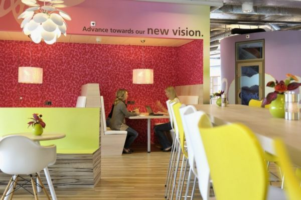Perfect Fun And Colorful Unilever Office In Switzerland Nice Ideas