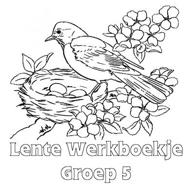 Kleurplaten Pasen Groep 5.Lente Werkboekje Groep 5 Books Activity בעקבות ספרים וסיפורים