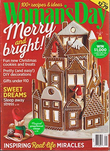 Woman's Day Magazine December 2016/January 2017 Christmas ...