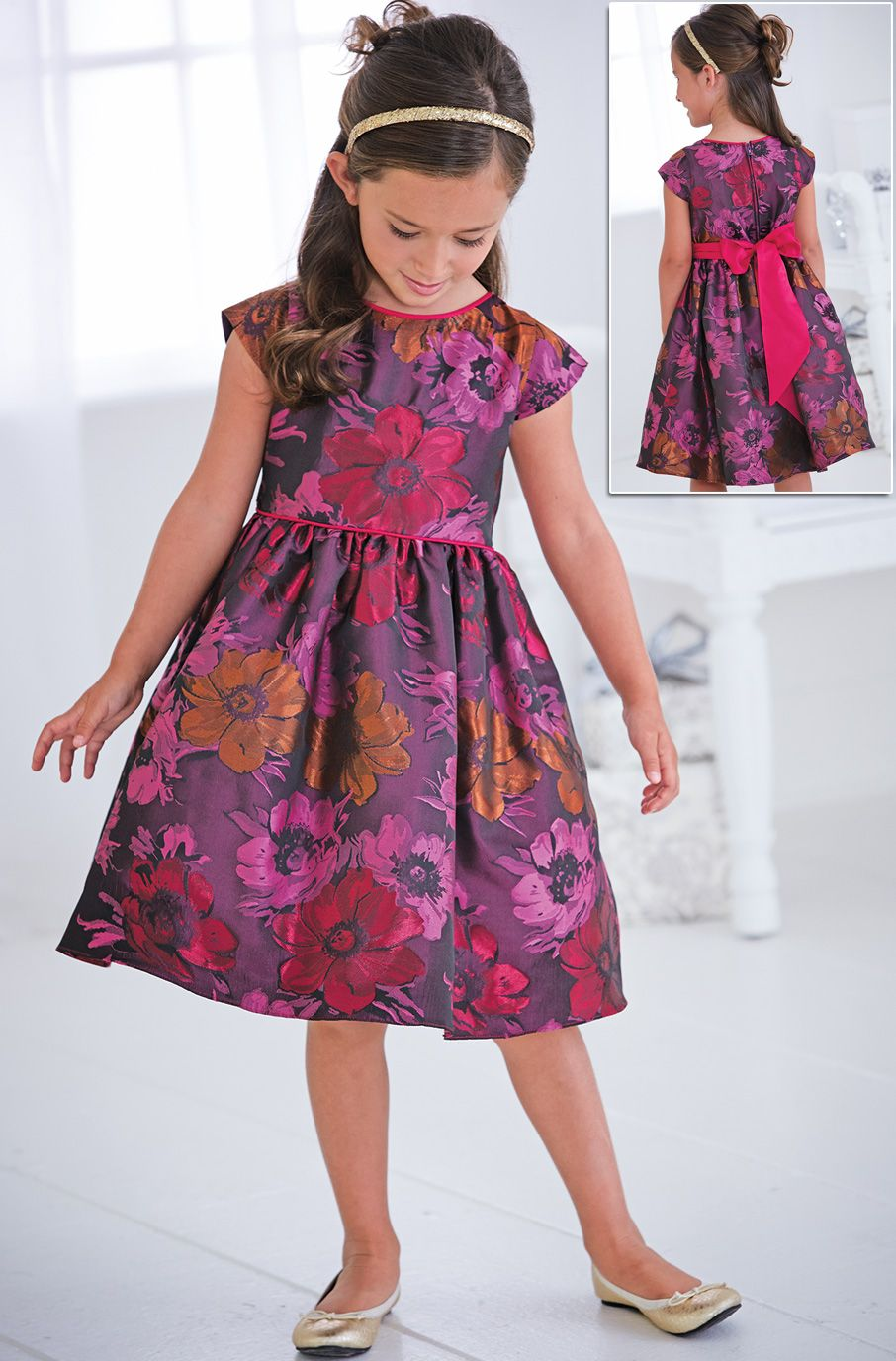 From CWDkids: Floral Dress | Ropa para Sara, Mar y Melany ...