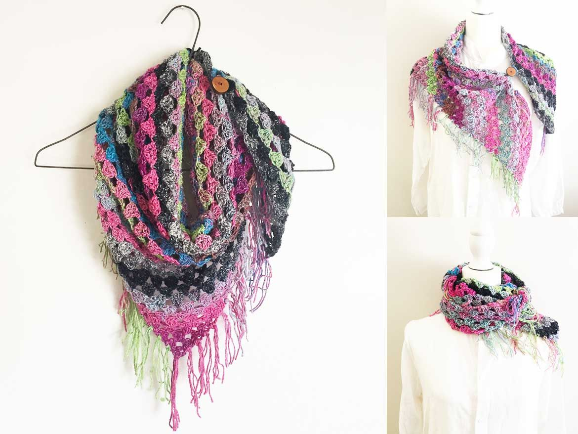 How to Crochet a Noro Scarf: Free + Easy Pattern with Video | kids ...