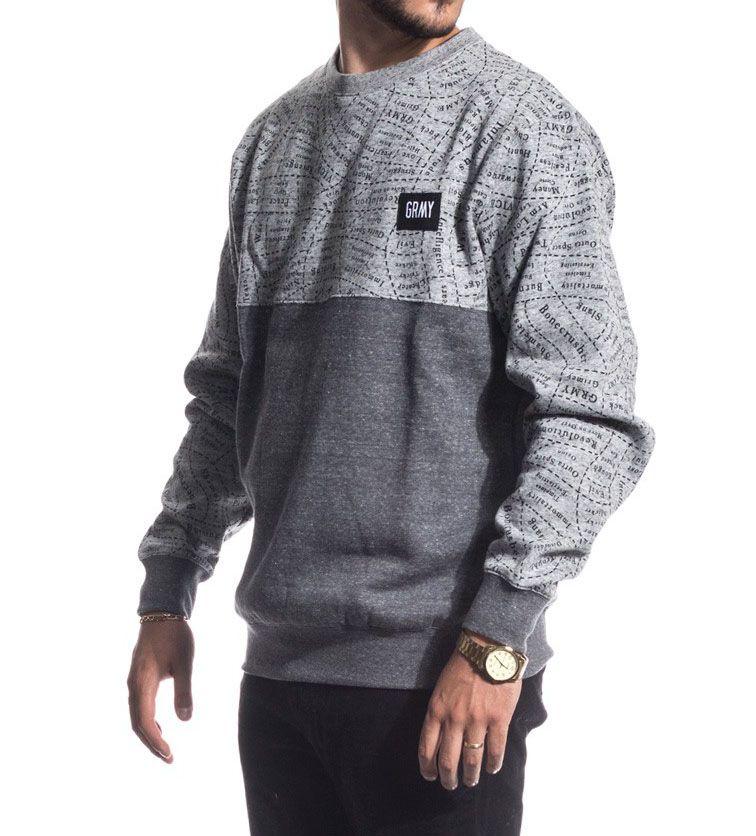 Sudadera Grimey Wear gris de oferta. Esto y mucho más en nuestra tienda  online skatespain.  skate  grimey  vans  thrasher f4dccba0658