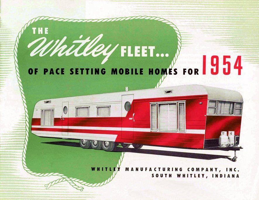 1954 Whitley Fleet | Mobile Home Living | Autocaravana, Retro ... on 1950 mobile home, 1955 mobile home, 1957 mobile home, 1952 mobile home, 1956 mobile home, 1958 mobile home,