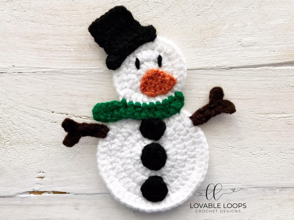 Crochet Flat Snowman Free Crochet Patterns Christmas Crochet Patterns Crochet Christmas Ornaments Free Crochet Xmas