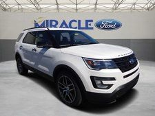 New 2017 Ford Explorer Sport White Suv
