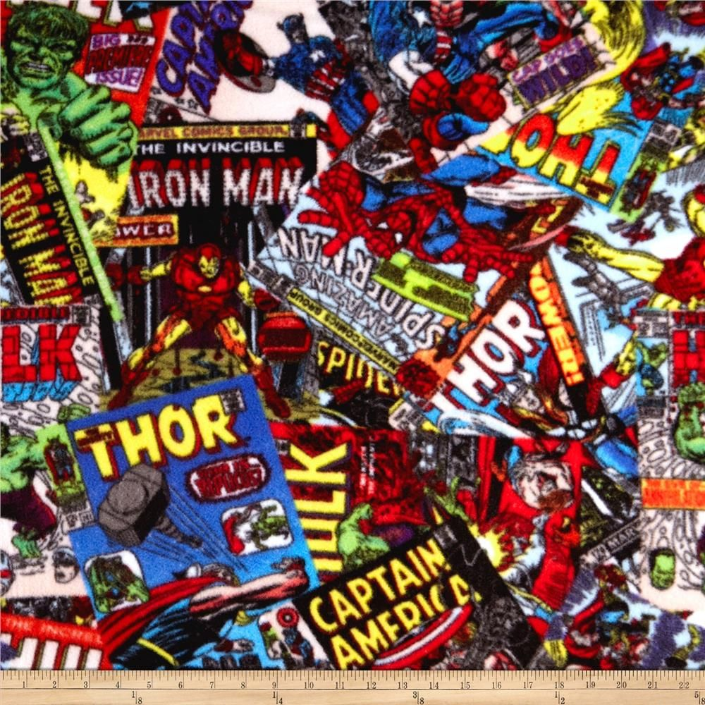 Marvel comics comic fury cover fleece art red d i y pinterest