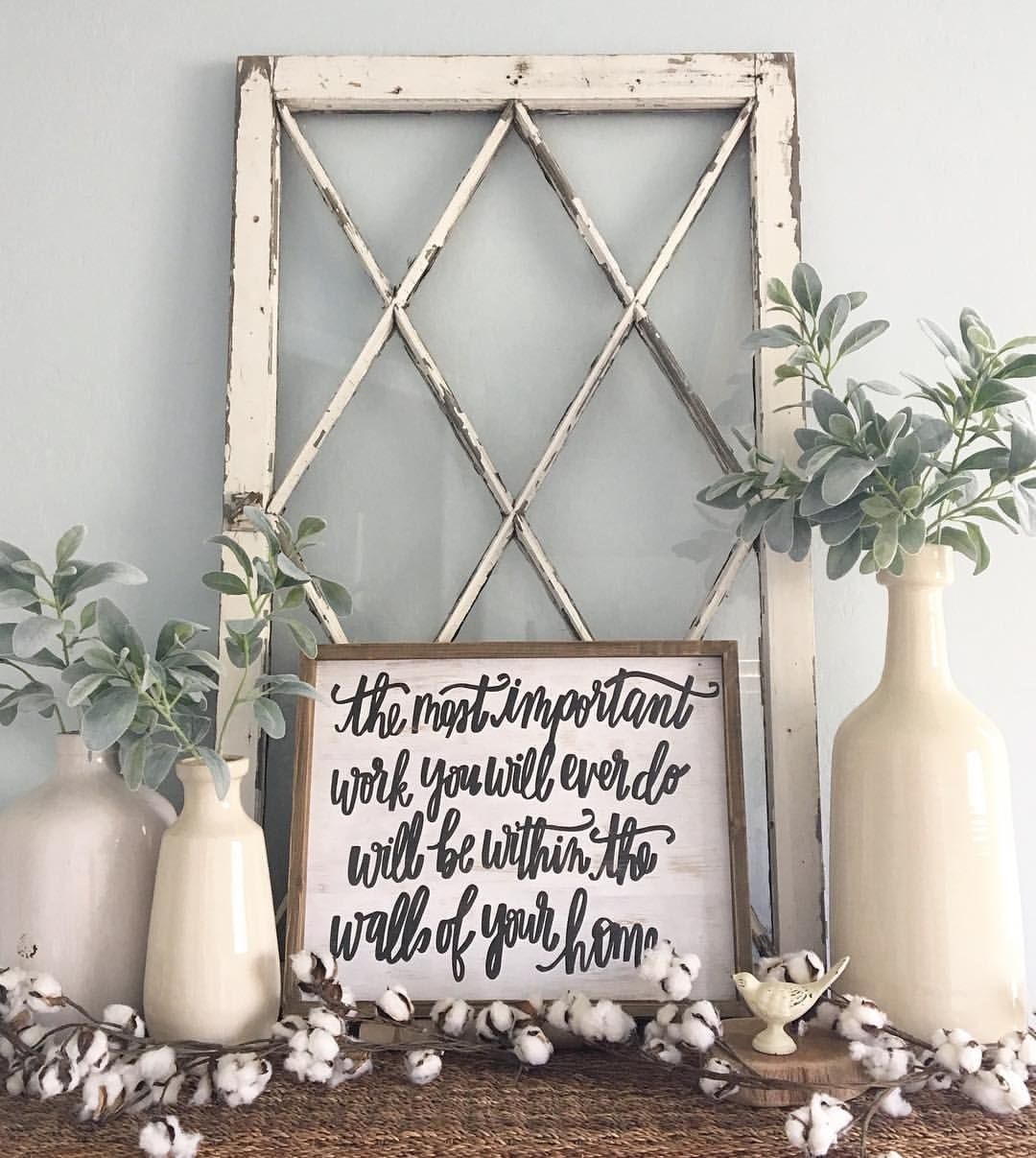 Window on wall decor  see this instagram photo by hobbylobby u  likes  rustic