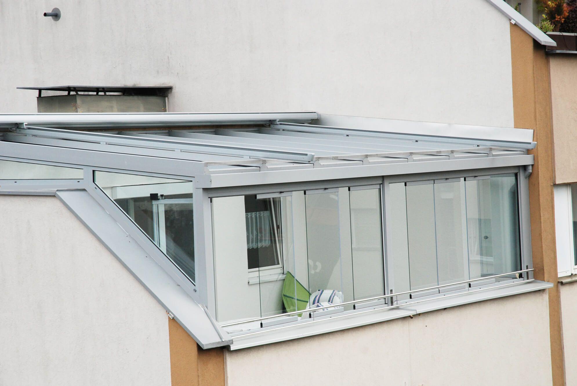 Sommergarten Auf Dachterrasse In Linz