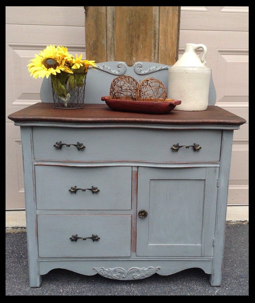 Rachel s washstand id es custom meubles pinterest - Meuble customise peinture ...