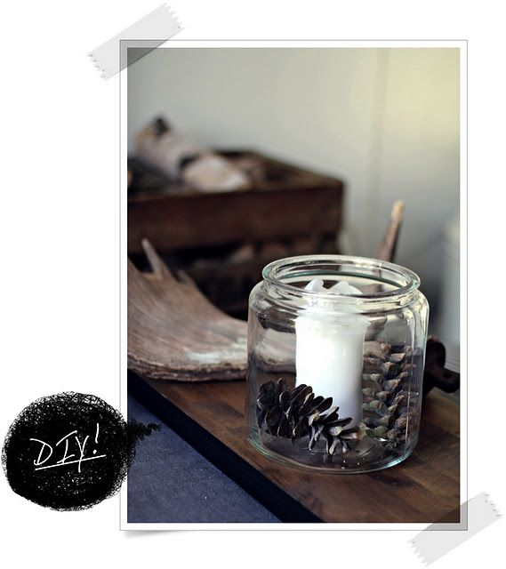 DIY candle art. Easy!