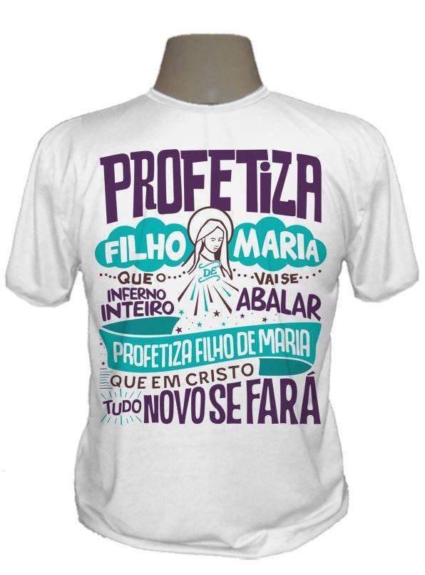 85dfa24623 Camisetas Católicas na Linguagem do Céu