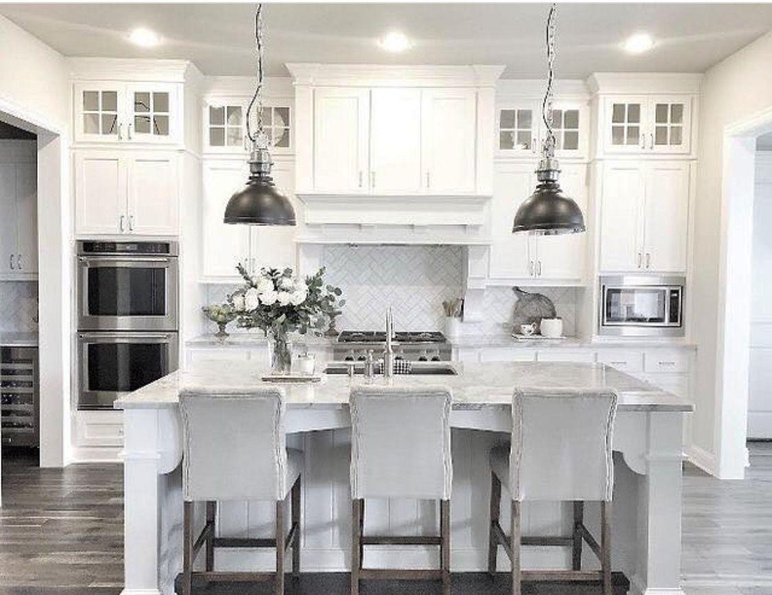 Dream Kitchen White Kitchen Design Kitchen Interior Farmhouse
