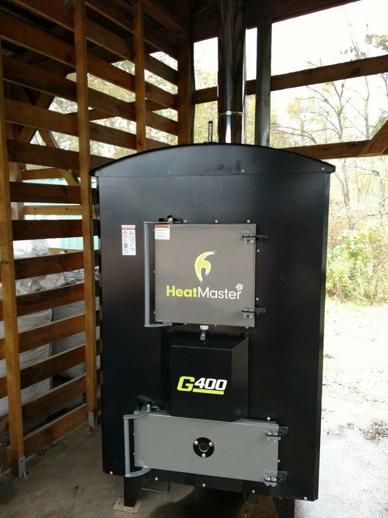 Outdoor Wood Stove: Heatmaster G400 outdoor wood boiler install ...