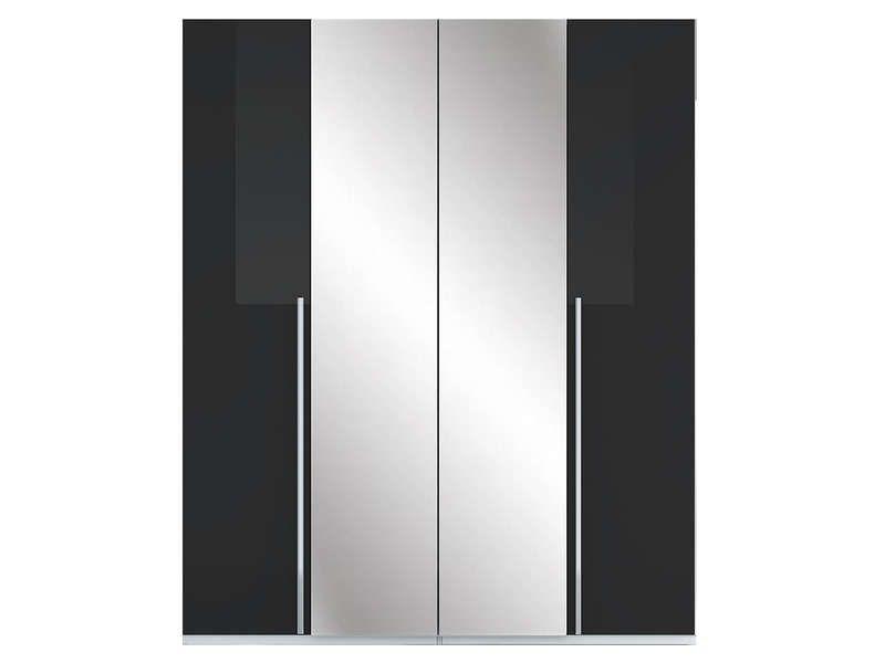 Armoire 4 Portes Crystal 2 Coloris Noir Pas Cher Armoire Conforama Bon Shopping Com Armoire 4 Portes Armoire Conforama Armoire