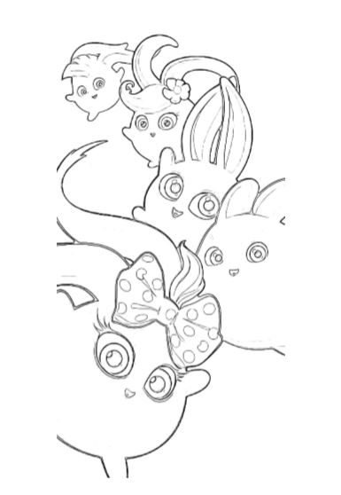 Sunny Bunnies Coloring Pages Pdf A4 Print Now Bunny Drawing Drawings Coloring Pages