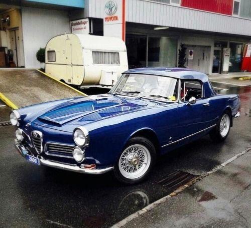 1960 Alfa Romeo 2000, Touring Of Milan - Rare...
