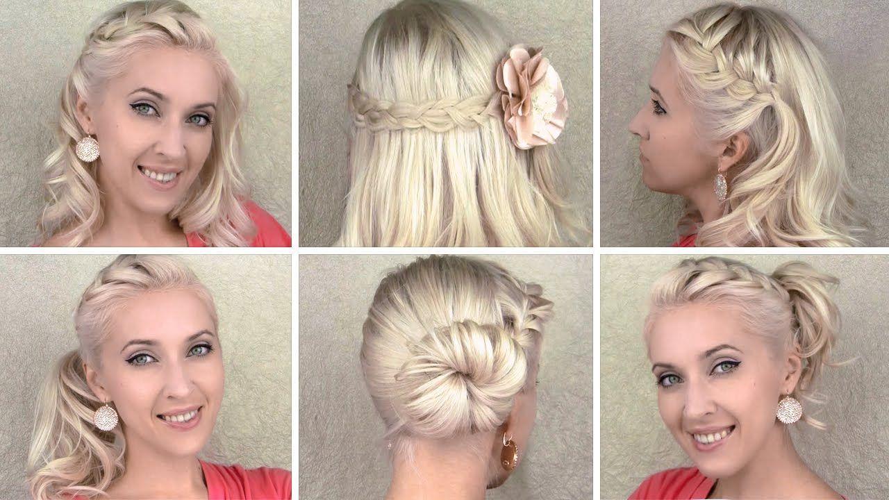 Christmas morning hair tutorial cute braided hairstyles for