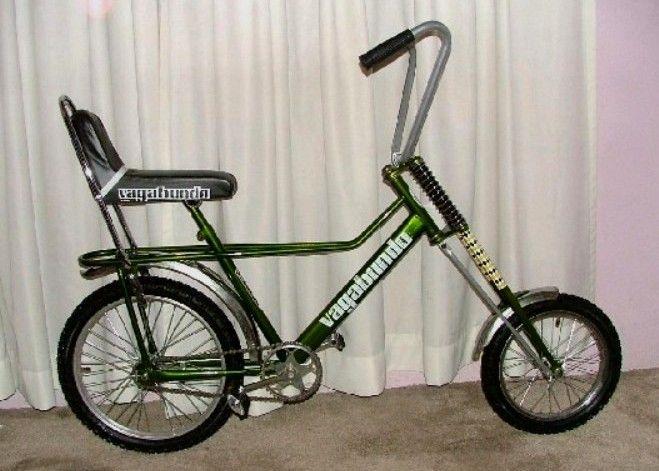 Bicicleta Vagabundo (1980). Rodada 16 adelante y rodada 20 ...