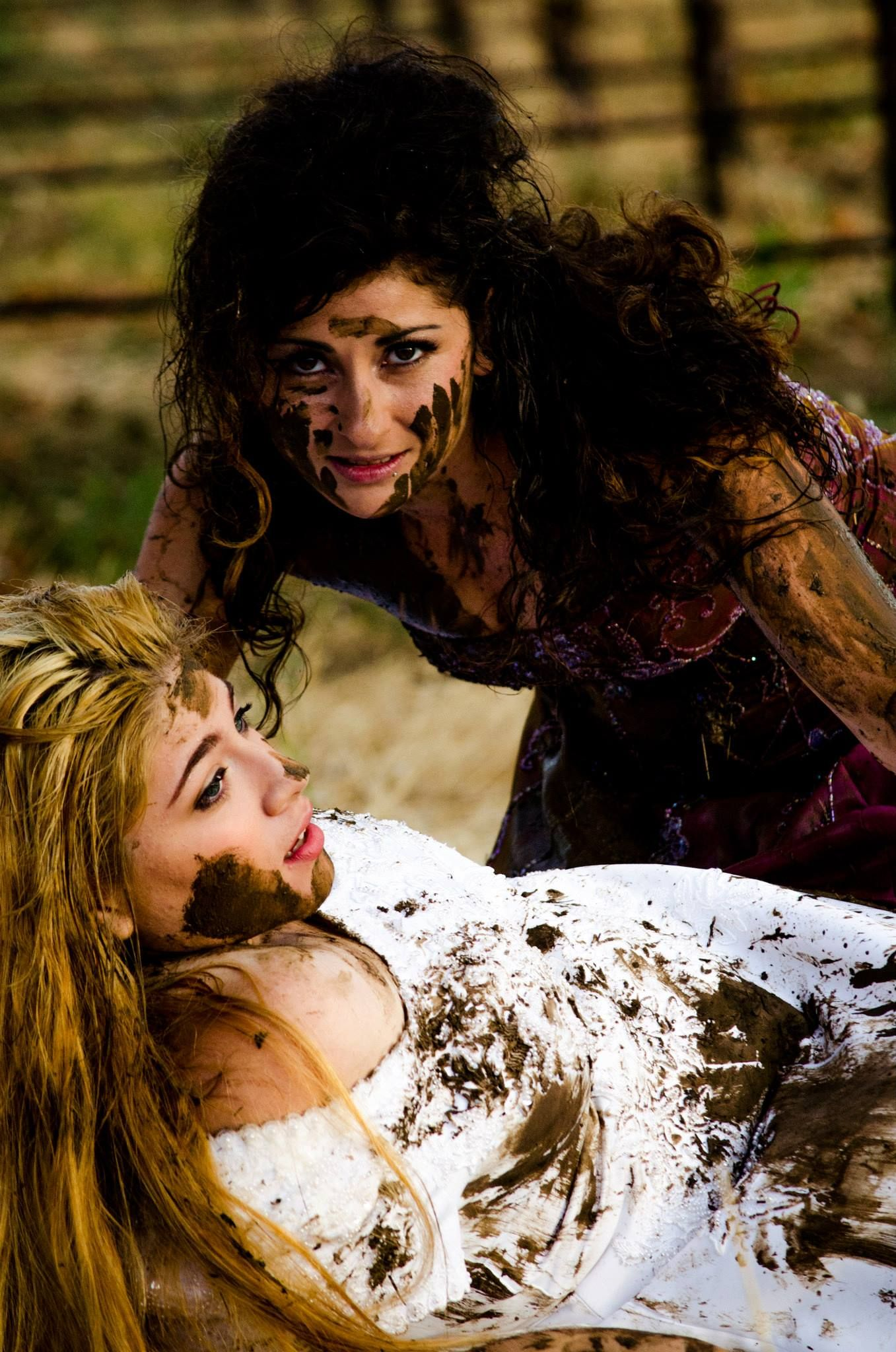 wreck the dress mud fight things about me pinterest