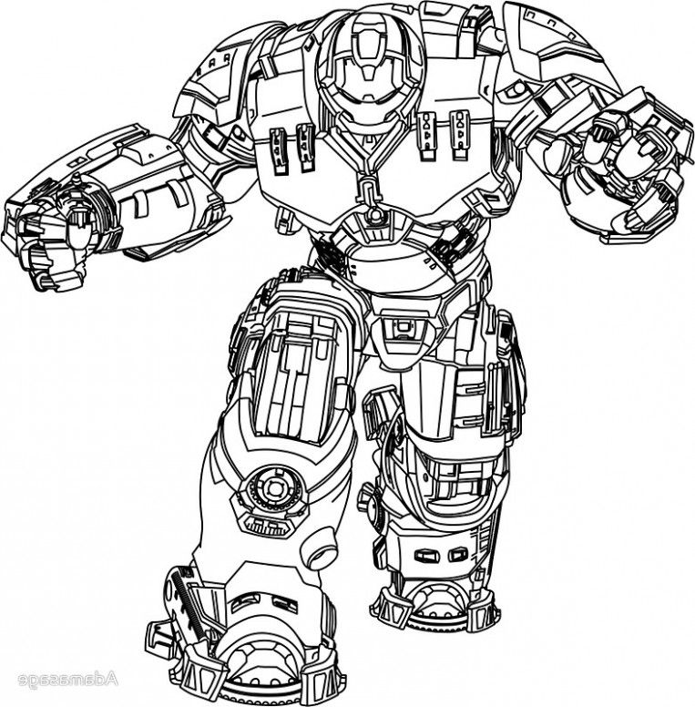 Why Iron Man Hulkbuster Coloring Pages Had Been So Popular