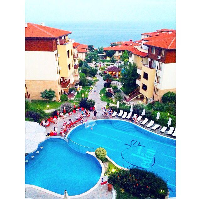 Love Our Hotel Garden Of Eden Resort Saint Vlas Bulgaria Resort Garden Of Eden Favorite Places