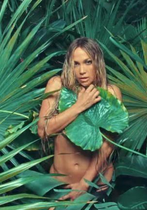 Jennifer Lopez topless in new music video for Ni Tu Ni Yo