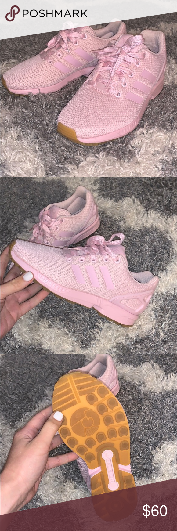Pink adidas, Shoes sneakers