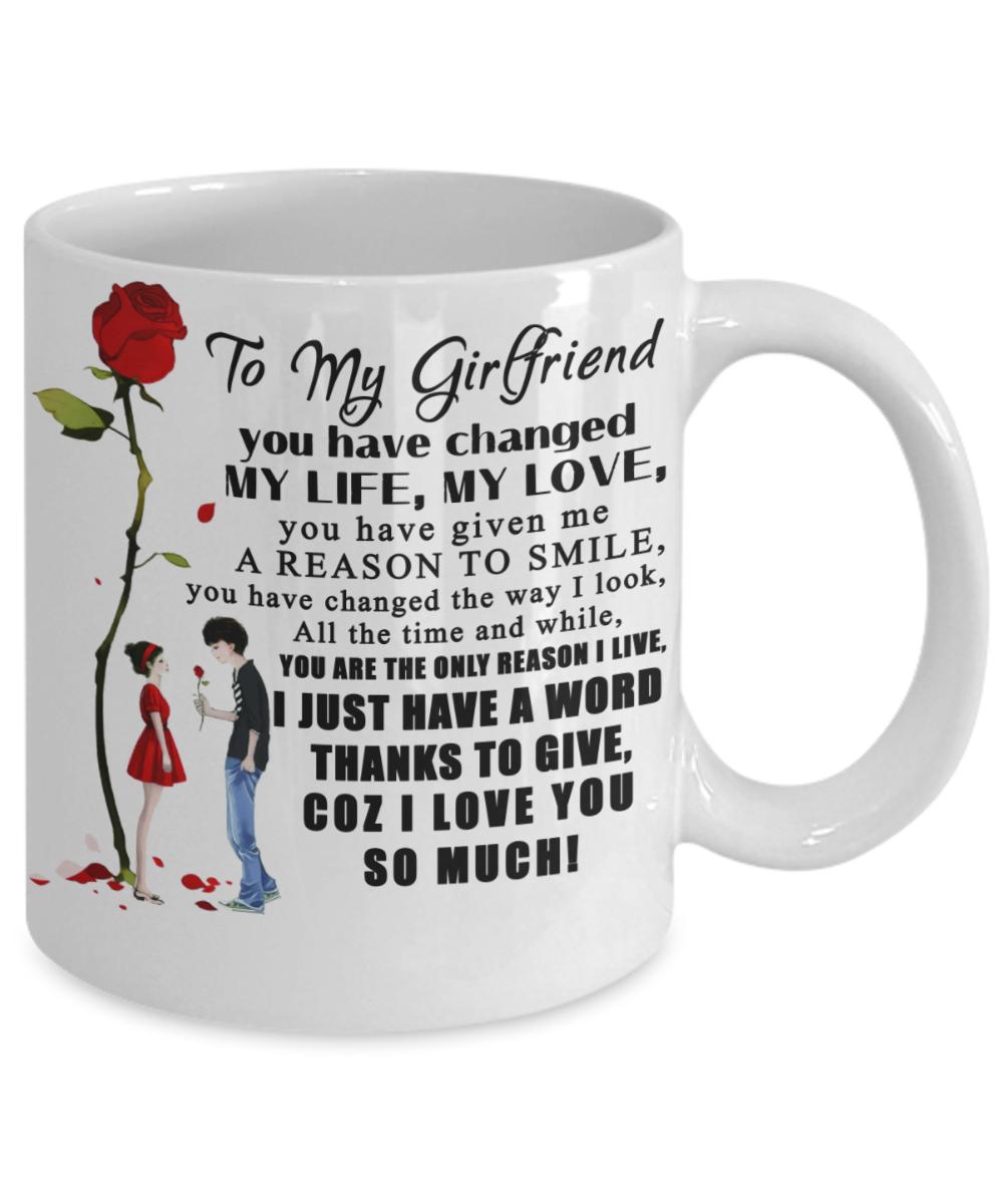Girlfriend Girlfriendcoffeemug Girlfriendgift Best Gift For Amazing Birthday Gifts