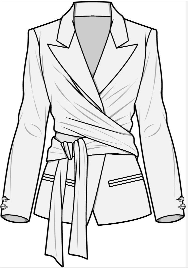 Pin De Maria Eloisa Ramirez En Chaquetas Sacos Abrigos Trajes Sastre Suits And Jackets Con Imagenes Bocetos De Ropa Bocetos De Diseno De Moda Diseno De Ropa
