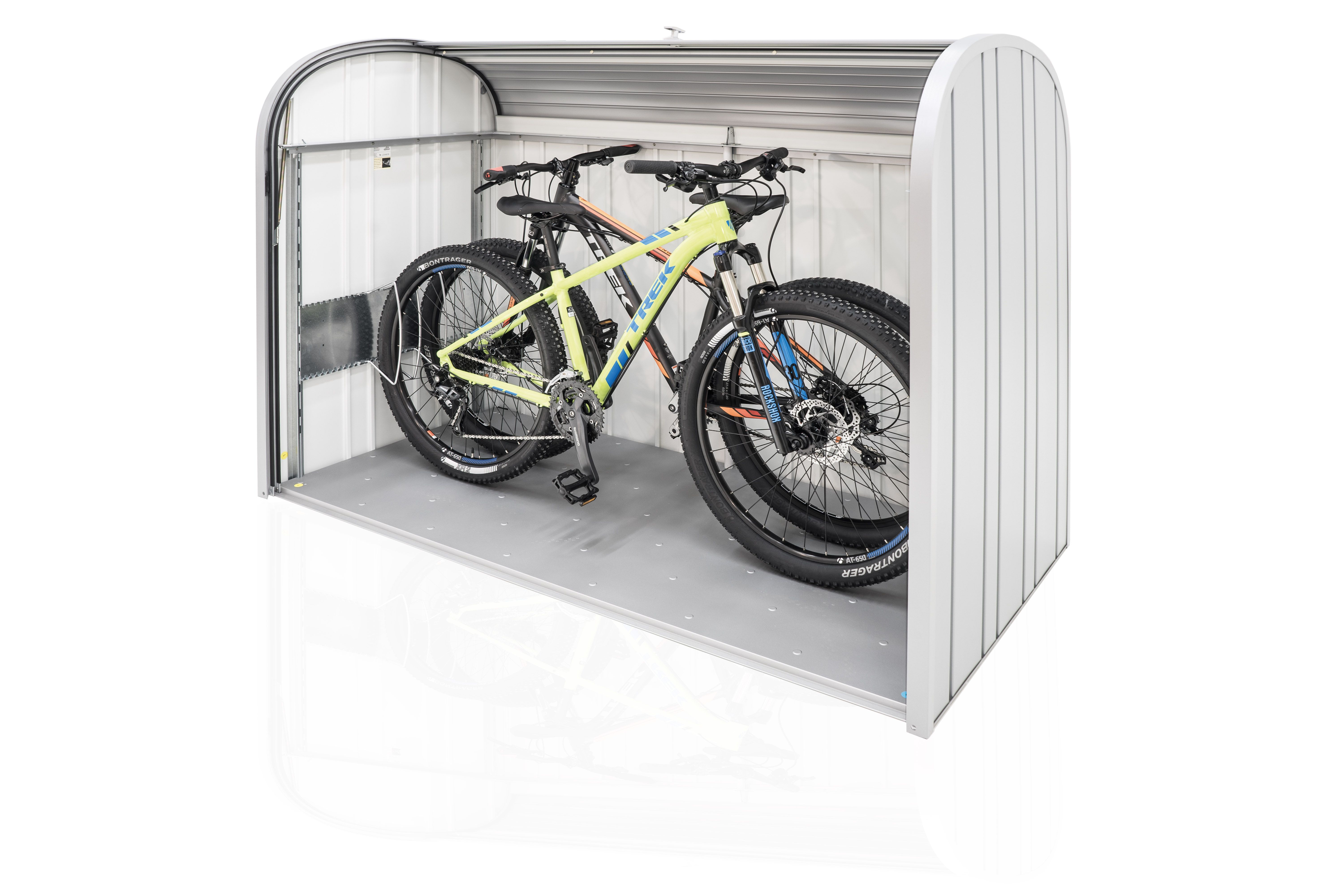 fahrradgarage im storemax 190 k nnen bis zu 2 erwachsenen fahrr der bequem untergebracht werden. Black Bedroom Furniture Sets. Home Design Ideas