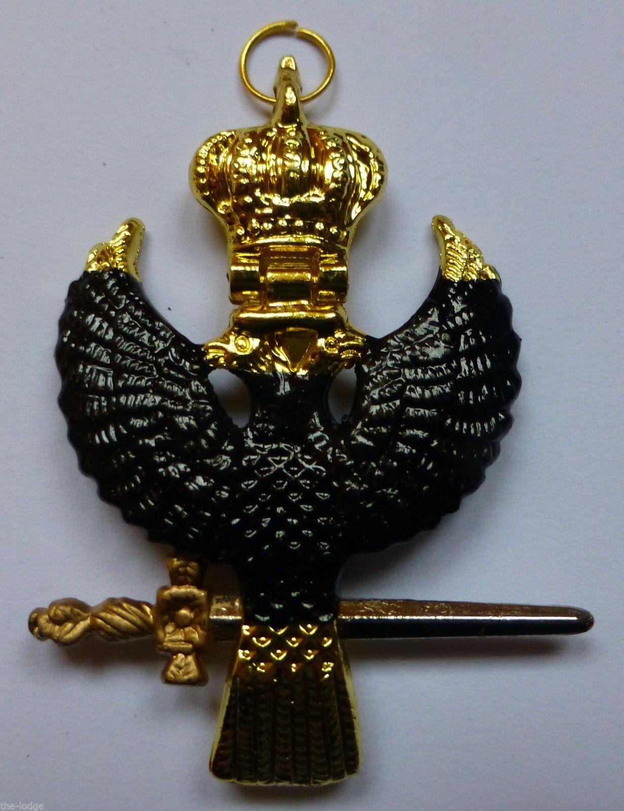 7e975ff8a133 Masonic Rose Croix 31st Degree Collarette Eagle Jewel – LR336 ...