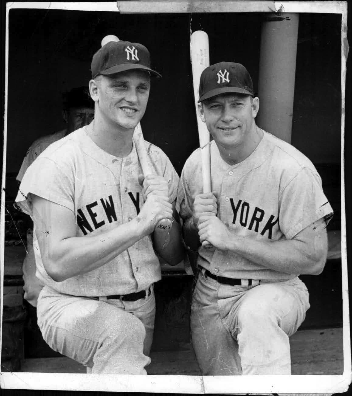 Image result for mickey mantle and roger maris