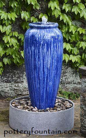 Louisiana Patio Deck Or Garden Fountain Self Contained This Fountain Can Go Anywhere 50 Tall X Diy Garden Fountains Fountains Backyard Fountains Outdoor