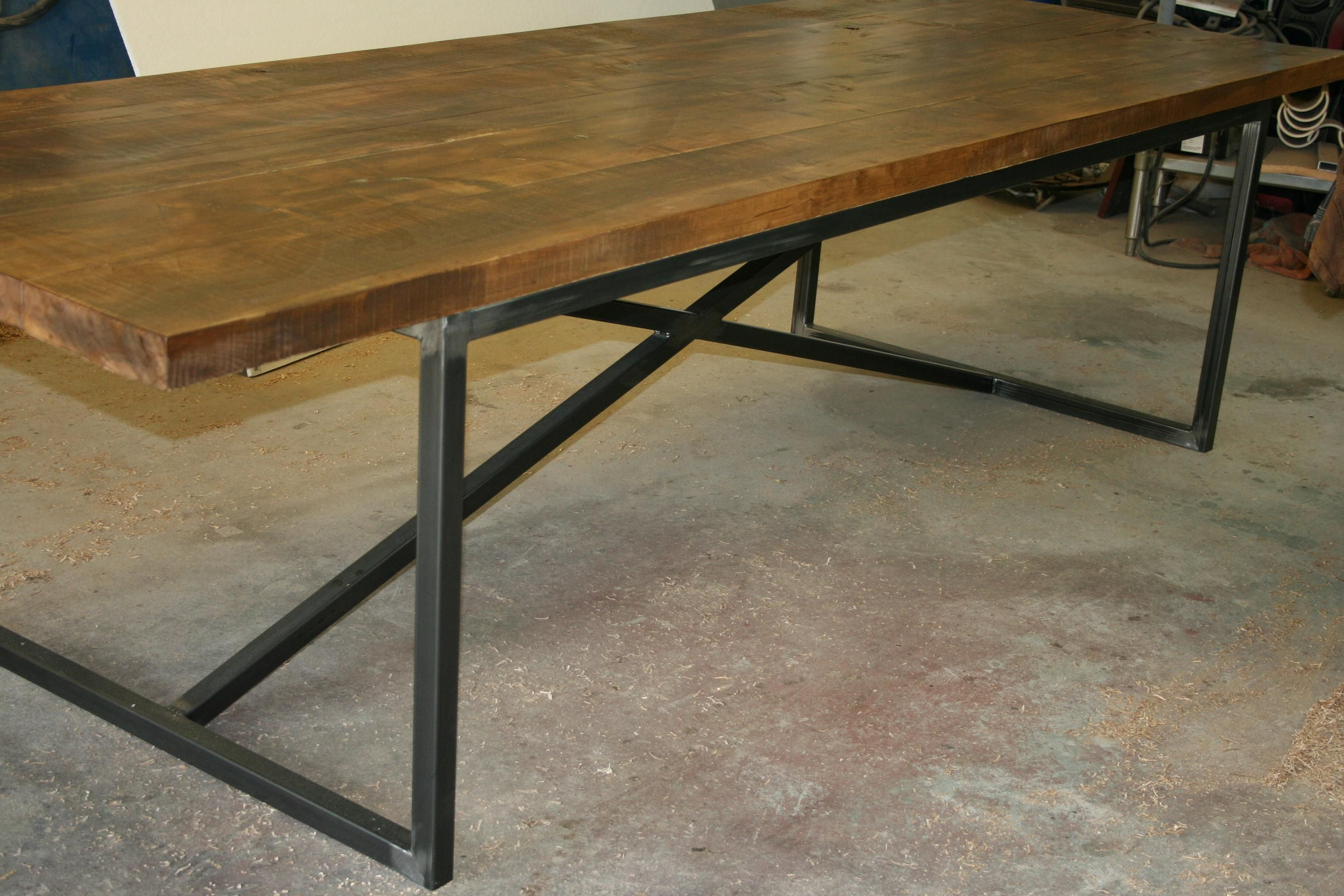 the Kallie 10 foot long dining table We build what you order