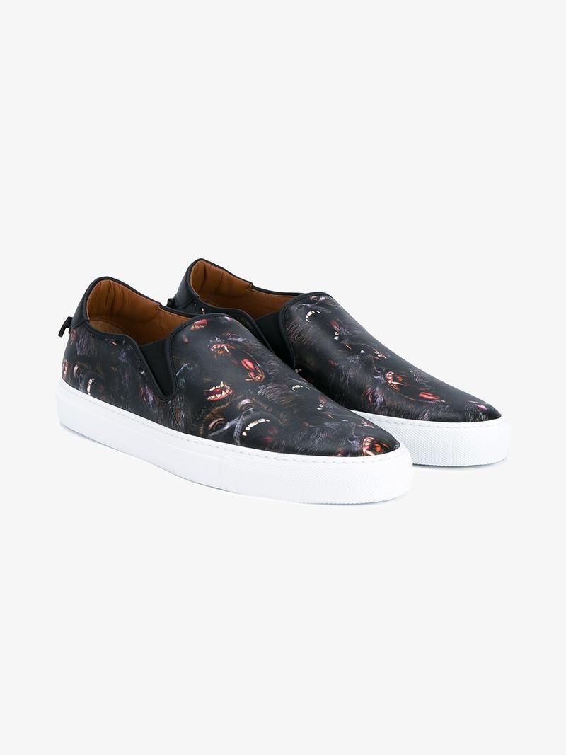 Givenchy Slip-ons Black Shoes For Men Sport