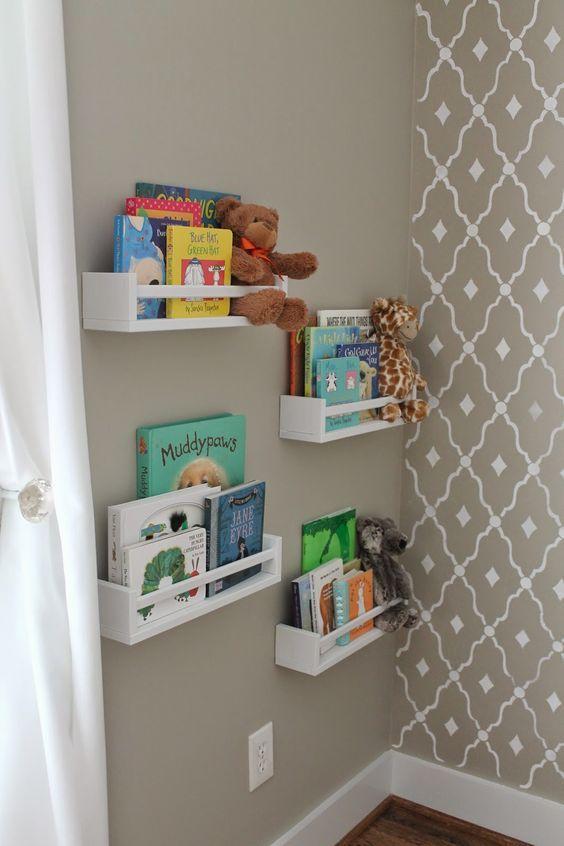 Ikea Spice Racks Used As Bookshelves Home Decorating Ideas