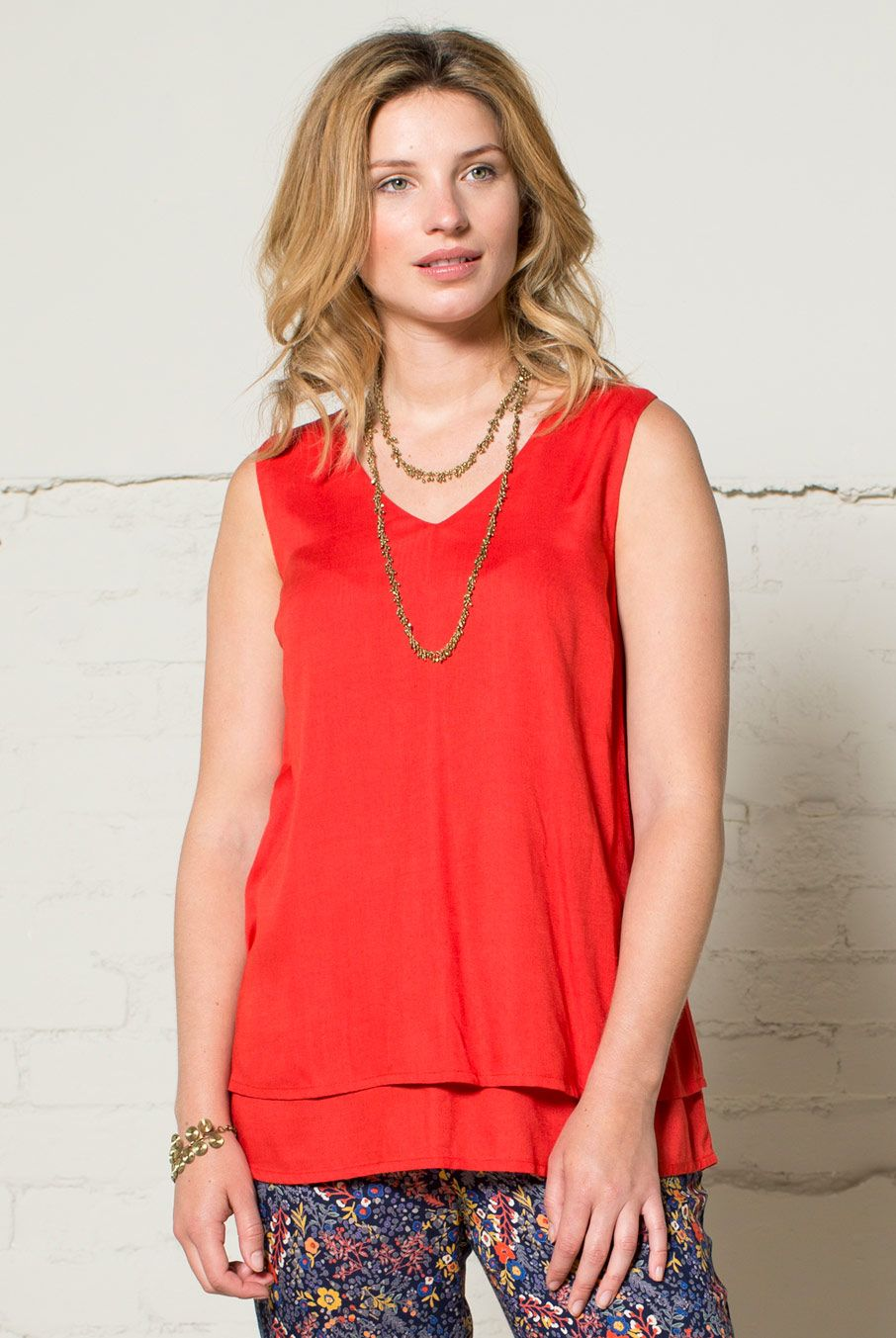 Double Layer Vest Top | Nomads Clothing