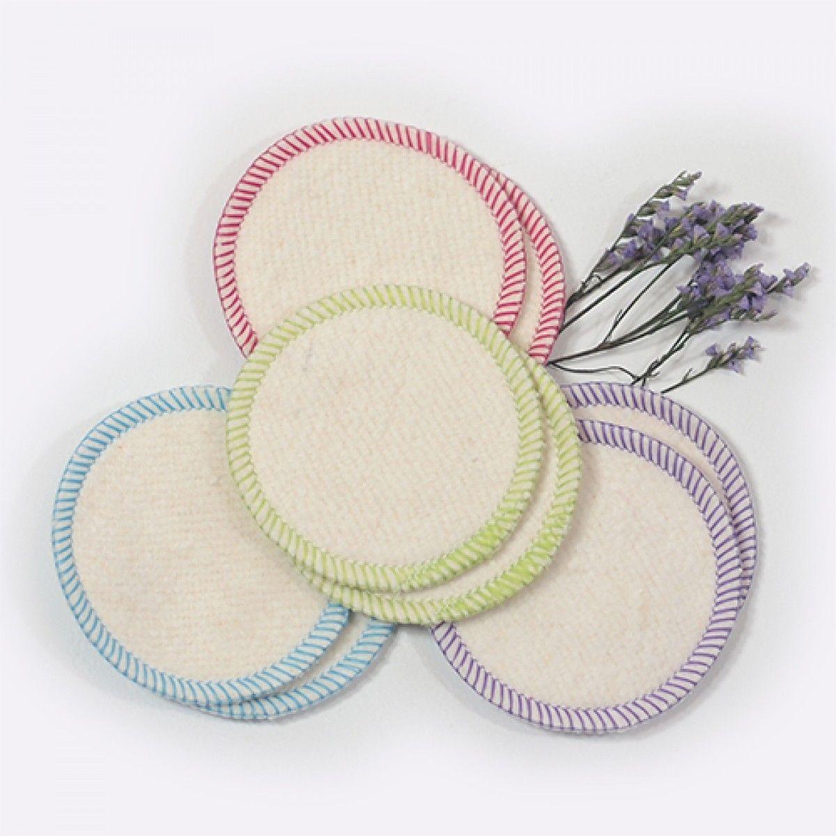 Makeup Removal Pads Hemp & Organic Cotton Makeup