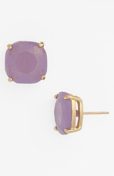 e3a651eab Free shipping and returns on kate spade new york small square stud earrings  at Nordstrom.com. Generously sized faux-gem studs are rounded and faceted  to ...