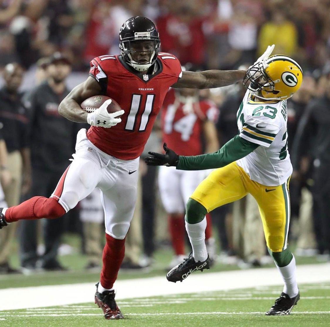 Julio Jones Got 180 Yards In Nfc Championship Game Tore Up Green Bay Defense Atlanta Falcons Baby Super Bowl Nfc Championship Game