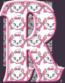 Alfabeto Decorativo: Alfabeto - Marie - PNG                                                                                                                                                                                 Mais